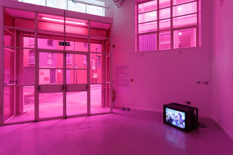 Installation view, Marie Angeletti at Arundel Gate court