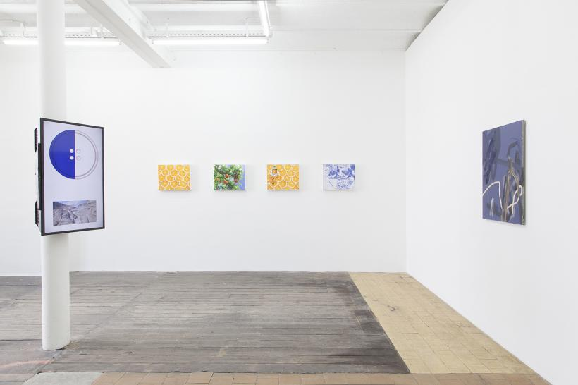 I Hate Mondays, Installation View