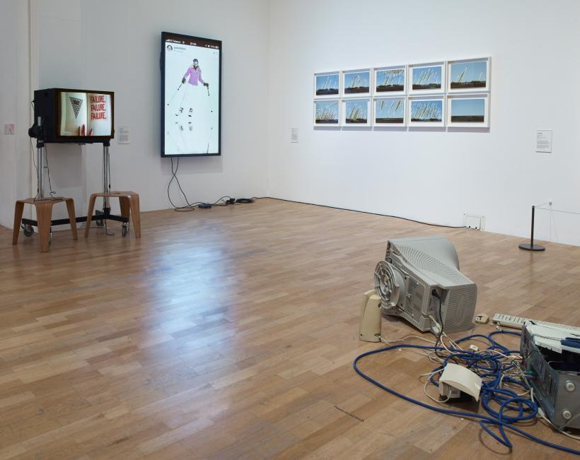 Installation view, Electronic Superhighway (2016-1966), Whitechapel Gallery, London, 29 January-15 May 2016