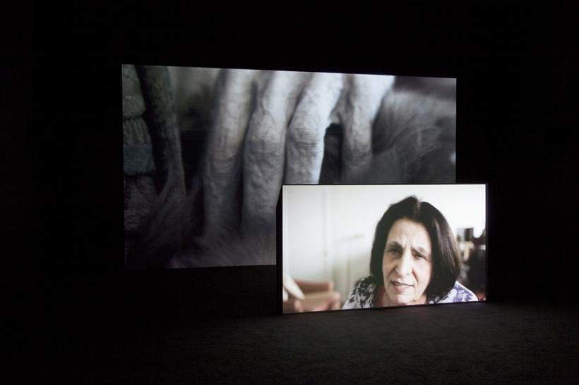 Hamza Hblloubi, Late, 2015 installation view de Pont Tilburg, 2015