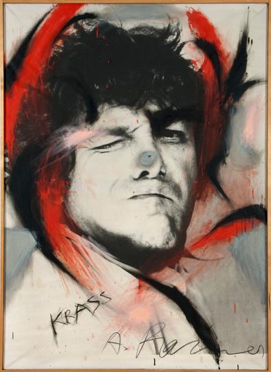 10Arnulf Rainer, KRASS, 197173, Oil on canvas, 165 x 120 cm