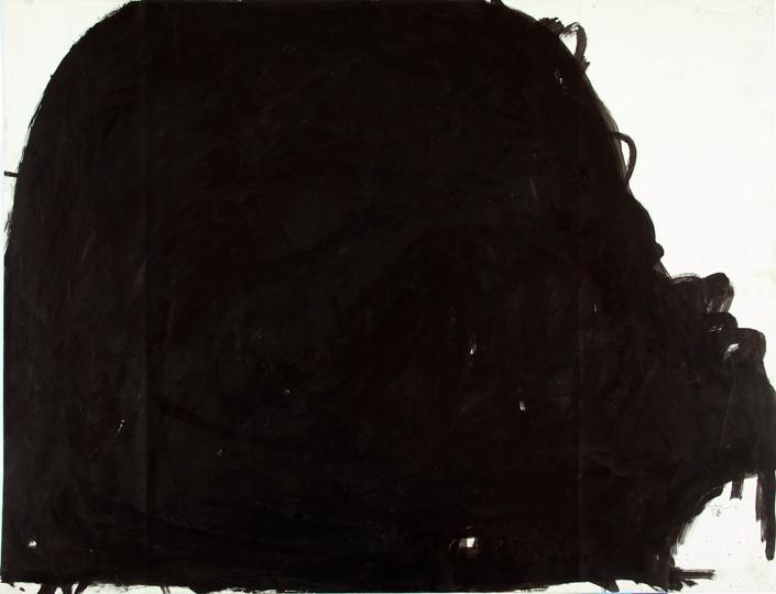 7Arnulf Rainer, Burg, 1956 57, Watercolor on paper, 65 x 84,6 cm
