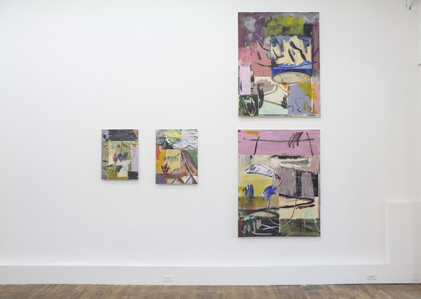 Butterfingers, Installation View