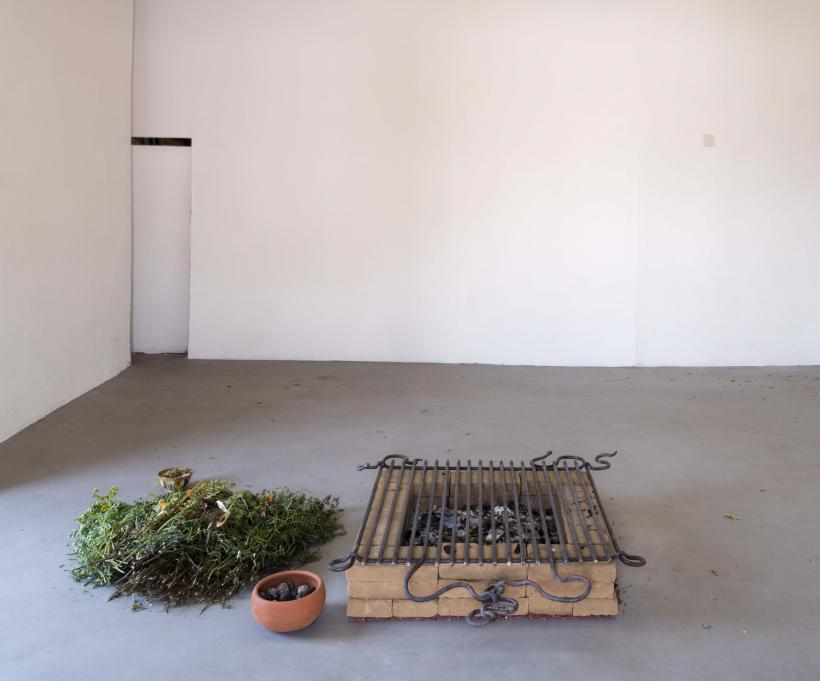 Elusive Earths III, Installation View