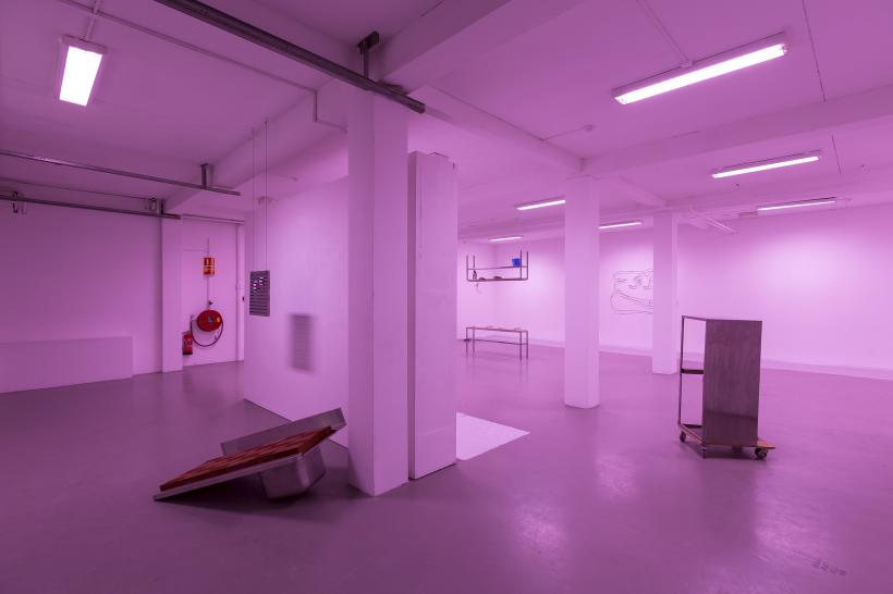 This space has to be filled, Installation View