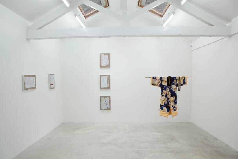 Installation view, discursive foundations of sunsight