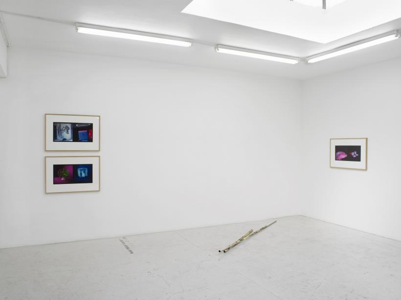 Under a falling sky, installation view, Laura Bartlett Gallery, 2016