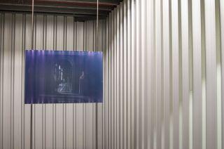 Rudi Williams, Curtain, Bode Museum Berlin, 2016. Hand-printed Type C print mounted on Aluminium. 600 x 900mm. Image credit: Alan Weedon