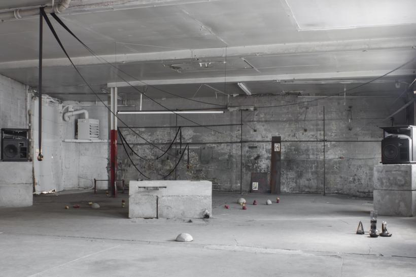 (PETRIFIES) at 820Plaza (Montreal). Installation view