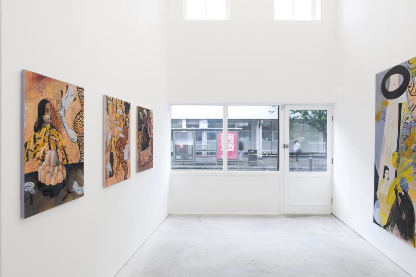 Jessie Makinson, Fake French, installation view, Roman Road, London, 9 June - 15 July 2016