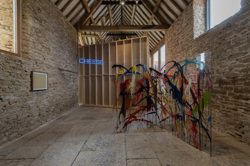 Installation view, 'Martin Creed. What You Find', Hauser & Wirth Somerset, 2016 © Martin Creed Courtesy the artist and Hauser & Wirth Photo: Hugo Glendinning