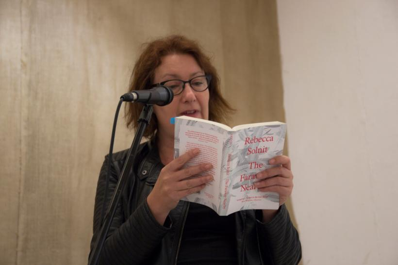 Rachel Lichenstein reading from The Faraway Nearby