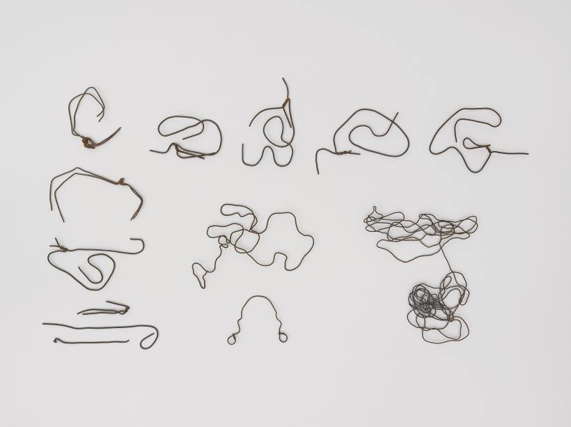 Mona Hatoum, Found (wire drawings), 1997 2016
