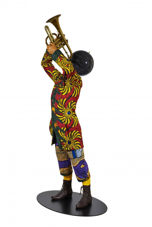 Yinka Shonibare MBE, Trumpet Boy, 2010.