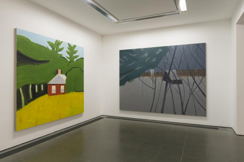 Alex Katz: Quick Light; Installation view; Serpentine Gallery, London (2 June - 11 September 2016)