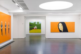 Alex Katz: Quick Light; Installation view; Serpentine Gallery, London (2 June - 11 September 2016)