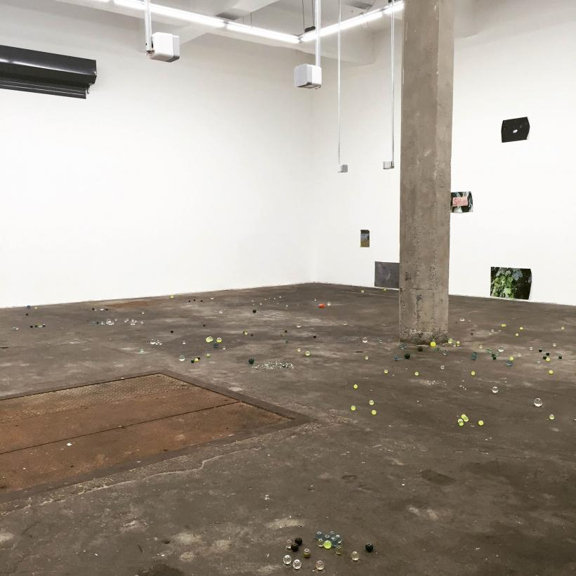 Sarah Rose: Difficult Mothers, installation view at SWG3, 2016