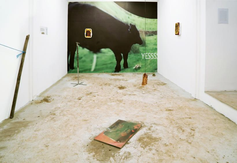 Europa and the Bull, installation view