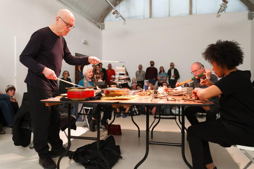 David Toop at Wysing Polyphonic