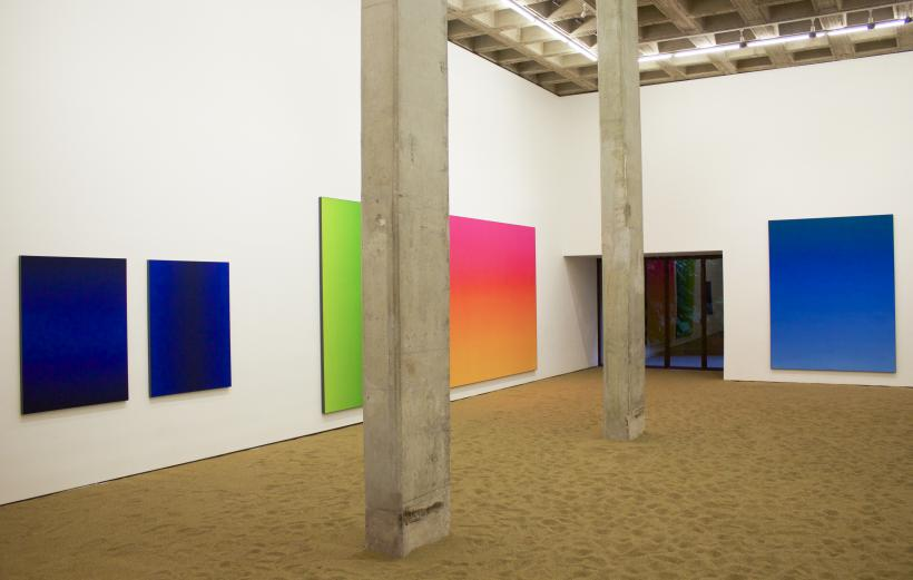 Matti Braun installation view