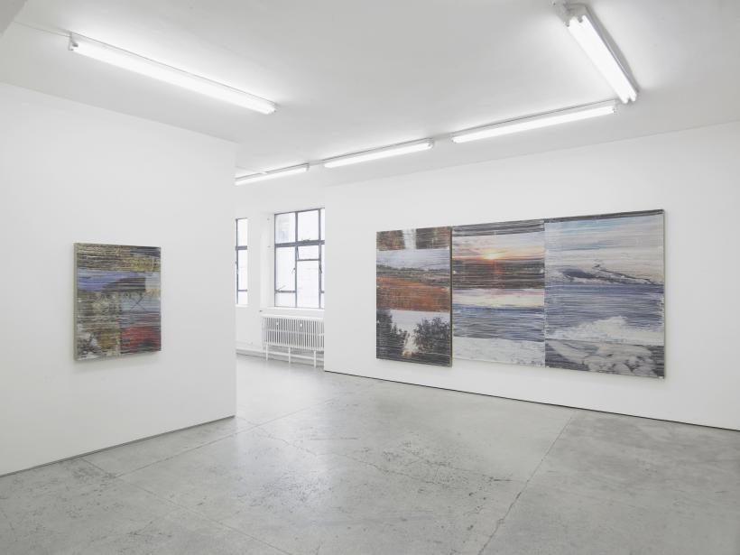 Summer Learning Loss, Installation view, Laura Bartlett Gallery, 2016