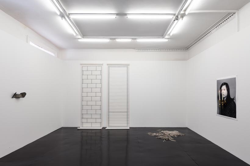 These Are Flat Things And Things Which Are Not Flat, installation view