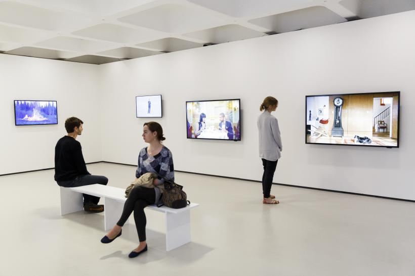 Ragnar Kjartansson, exhibition installation view, Barbican Art Gallery, 14 July - 4 September 2016