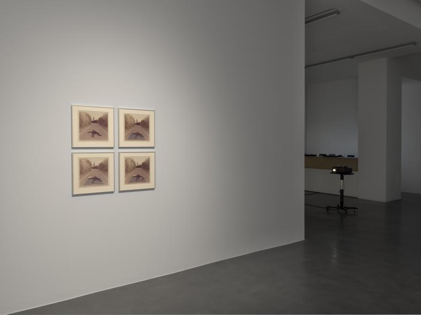Installation view, Bas Jan Ader at Simon Lee Gallery