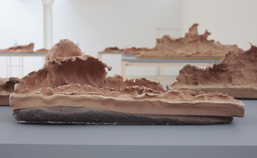 Damián Ortega, Lava Waves, 2016. Courtesy of the artist, kurimanzutto, mexico city and gladstone gallery, new york. photo- ruth clark
