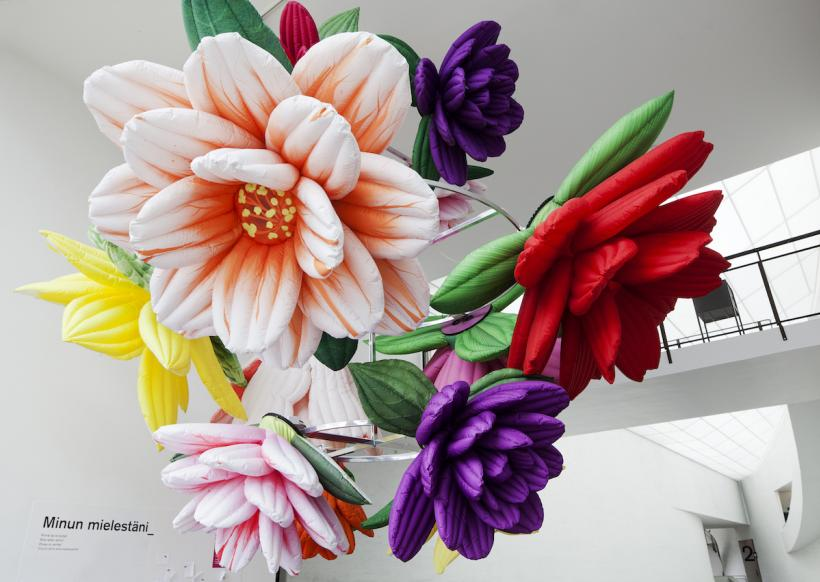 Flower Chandelier, 2012