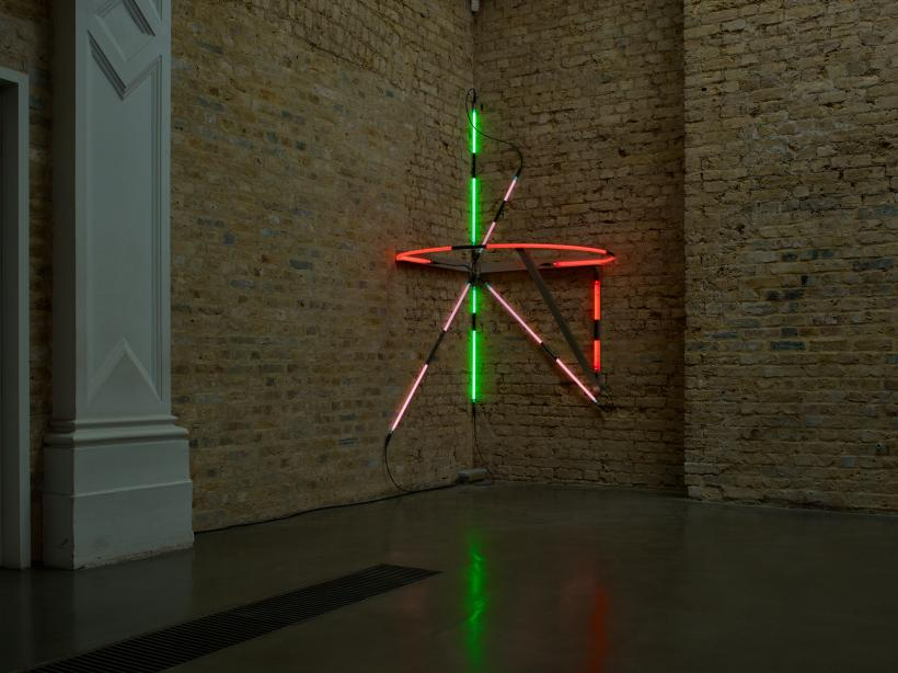 Keith Sonnier, installation view at Whitechapel Gallery