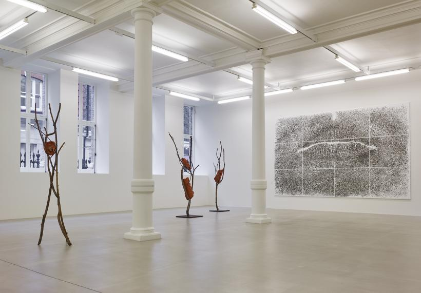 Installation view at Marian Goodman Gallery