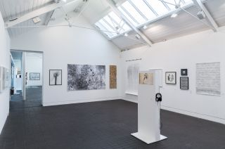 Installation view, Jerwood Drawing Prize 2016, Jerwood Visual Arts