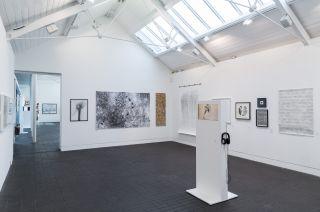 Installation view, Jerwood Drawing Prize 2016, Jerwood Visual Arts