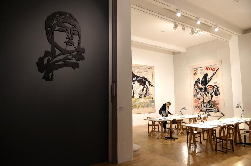 Installation view, William Kentridge, Thick Time
