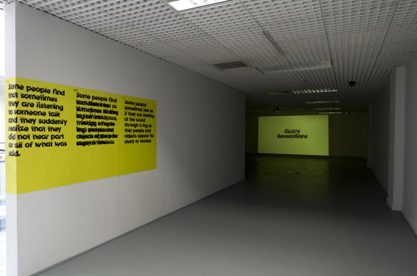 John Lawrence: Sickly Revelations*, installation view at NGCA, Sunderland, 2016