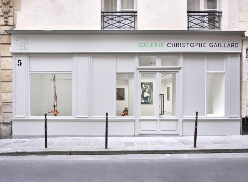 Kate Steciw, installation view at Galerie Christophe Gaillard, Paris, 2016