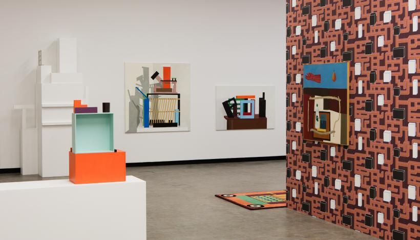 Nathalie Du Pasquier: BIG OBJECTS NOT ALWAYS SILENT, installation view, Kunsthalle Wien, 2016