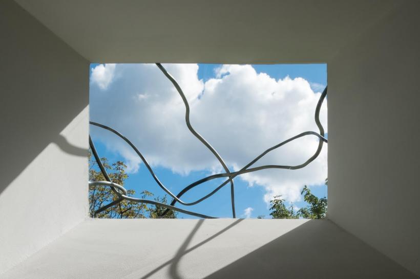 Daiga Grantiņa: Heap-core,,, installation view at kim? Contemporary Art Centre, Riga, 2016