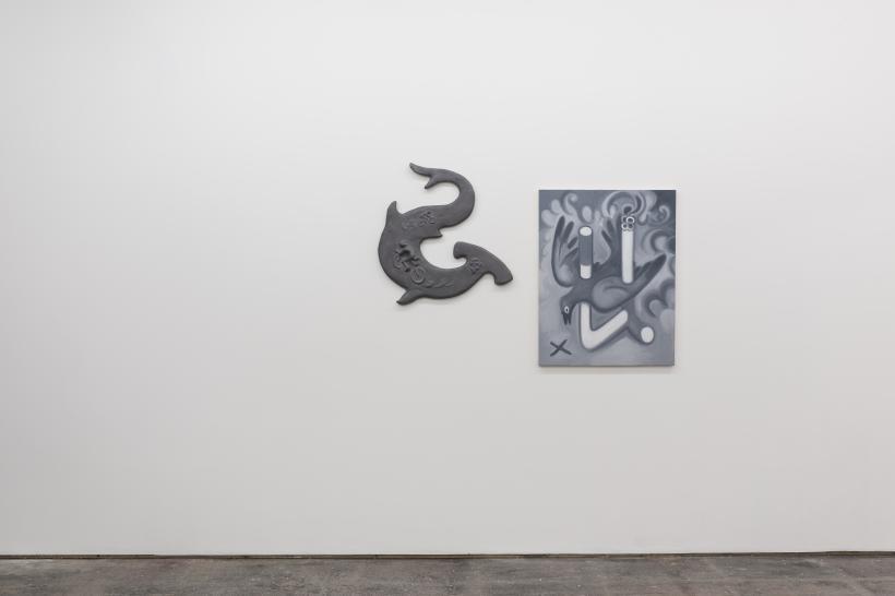 Justin Fitzpatrick, installation view