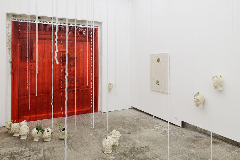Marco Giordano: asnatureintended, installation view at Frutta, 2016