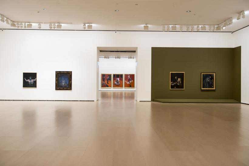 Installation view, Francis Bacon: From Picasso to Velázquez, Guggenheim Bilbao, 30 September - 8 January 2017