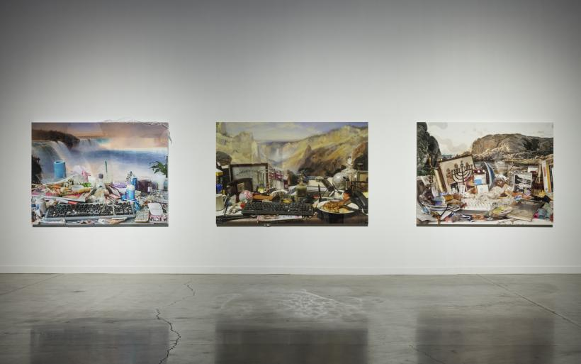 Jon Rafman, Arsenal Montreal installation view