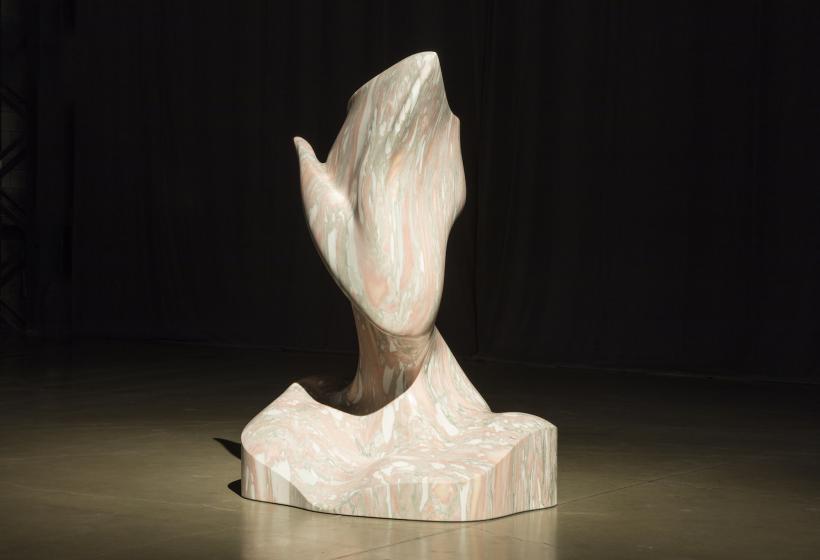 Jon Rafman Turbodemon, 2015 Marbre / Marble 150 x 182 x 100 cm