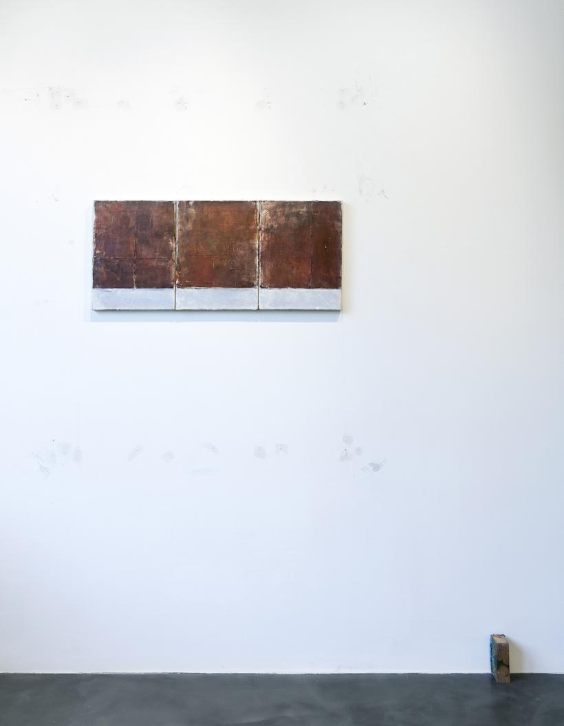 The Bullet Returns to Where the Shot was Fired, installation view at House of Egorn, Berlin, 2016