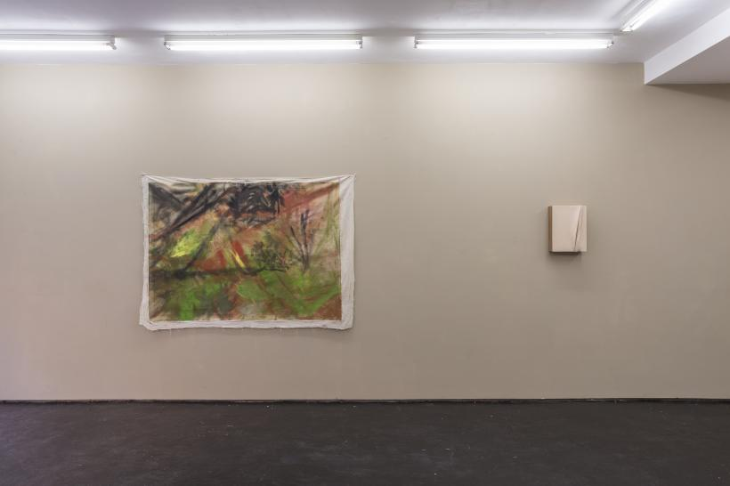 Installation view, Lanzarote, Union Pacific