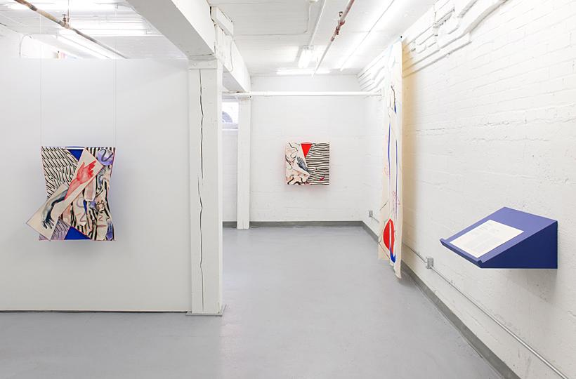 Fay Nicolson: I Love Your Euclidean Stance, Galileo Flow, installation view at Towards, 2016