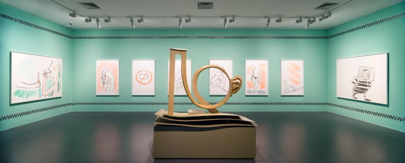 Camille Henrot, Minor Concerns, 2015, installation view at Yuz Museum Shanghai