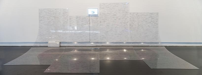 aaajiao (XU Wenkai), Email Trek, 2016, installation view at Yuz Museum Shanghai