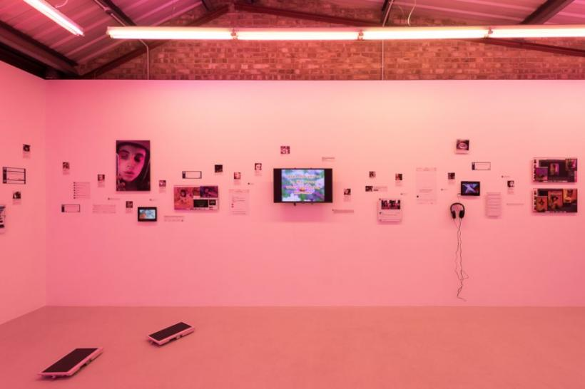 Molly Soda: Comfort Zone, installation view at Annka Kultys Gallery, London, 2016